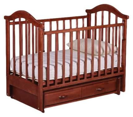 Кровать детская RIO Виктория - 2 с маятником вишня