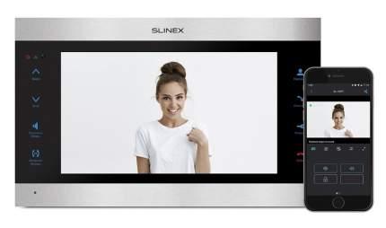 Видеодомофон Slinex SL-10IPT Серебро + черный