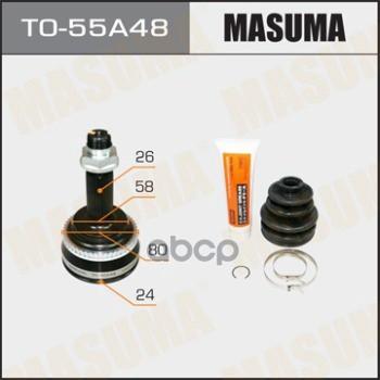 ШРУС Masuma TO55A48