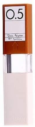 """Грифели для механических карандашей Tombow """"Mono"""", 0,5 мм, 4H, 12 штук"""
