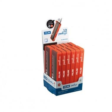 Грифели для механических карандашей Milan 0,7 мм, HB (12 штук в комплекте)