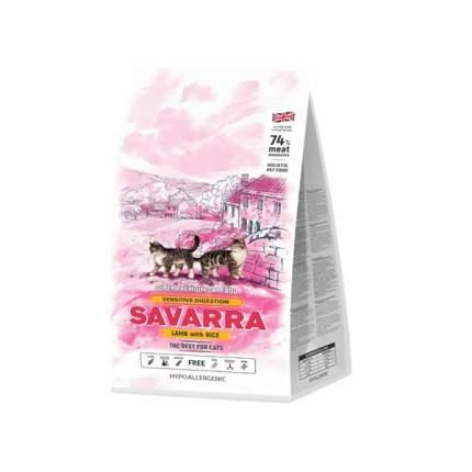 Сухой корм для кошек Savarra Sensitive Lamb and Rice, ягненок и рис, 12кг
