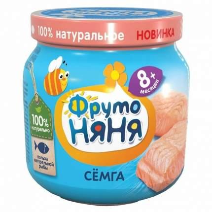 Пюре рыбное ФрутоНяня Семга, 80 г