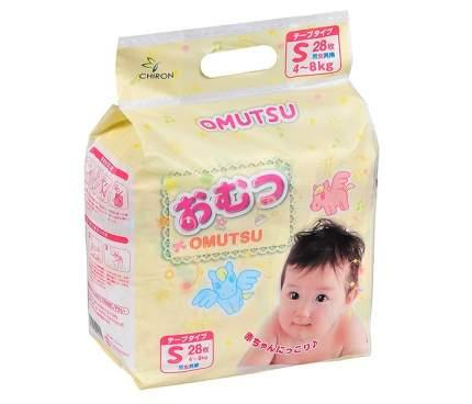 Подгузники Omutsu S (4-8 кг), 5 шт.