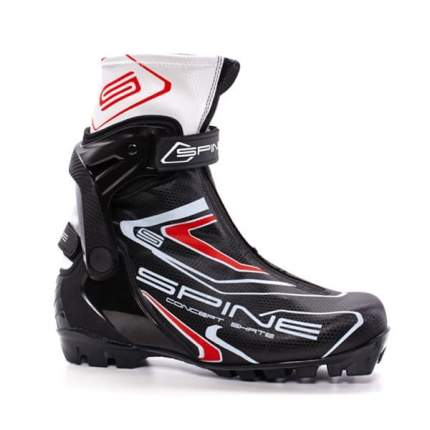 Ботинки для беговых лыж Spine Concept Skate 296 NNN 2020, черные, 41