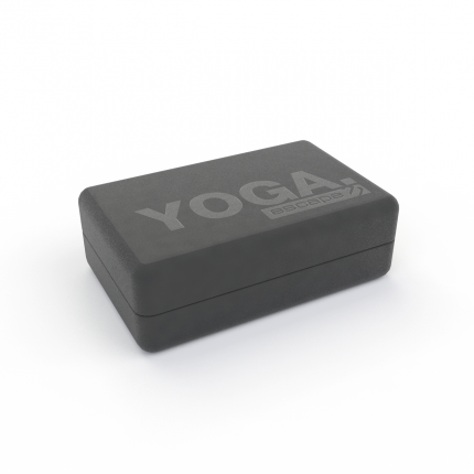 Блок для йоги Escape, черный, 1шт