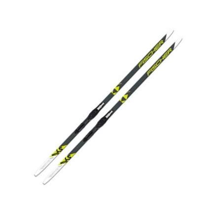 Беговые лыжи Fischer Ls Skate IFP Xtra Stiff 2020, черные/желтые/белые, 186 см