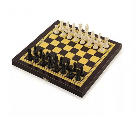 Игра 3 в 1 Start Up THF2202B шахматы, шашки, нарды