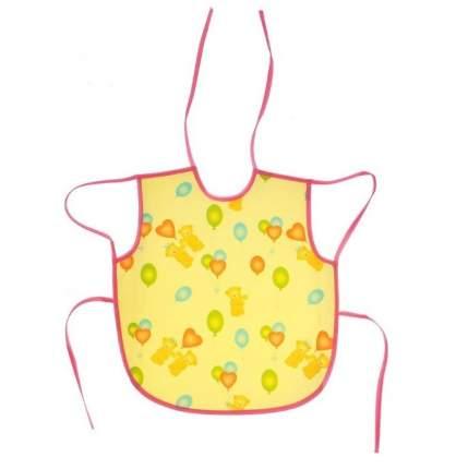 Слюнявчик Колорит Мишки желтые, 36х38 см