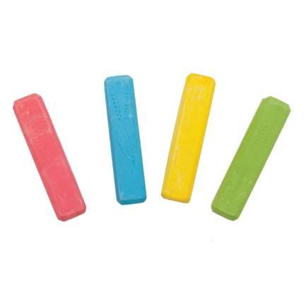Мелки цветные для асфальта Каляка-Маляка 4 штуки