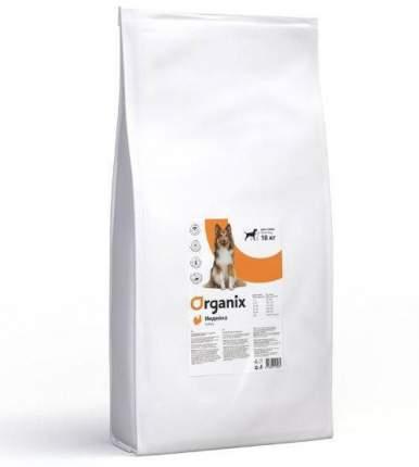 Сухой корм для собак Organix Adult Dog, для чувствительного пищеварения, индейка, 18кг
