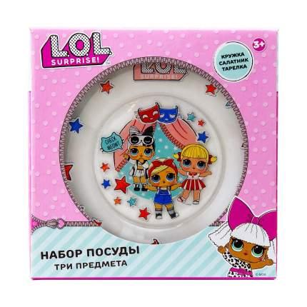 Набор посуды ND Play L.O.L. Surprise! Together4eva в подарочной упаковке, 3 предмета