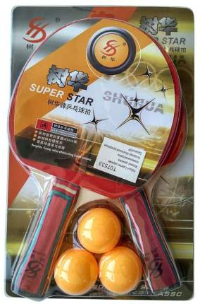 T07533 Набор для настольного тенниса (2 ракетки 3 шарика)