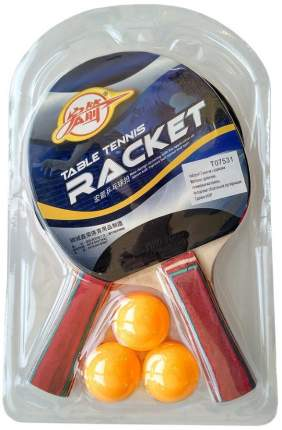 T07531 Набор для настольного тенниса (2 ракетки 3 шарика)