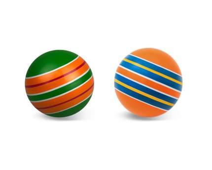 Мяч детский Мячи Чебоксары Серия Полосатики 12,5 см, в ассортименте