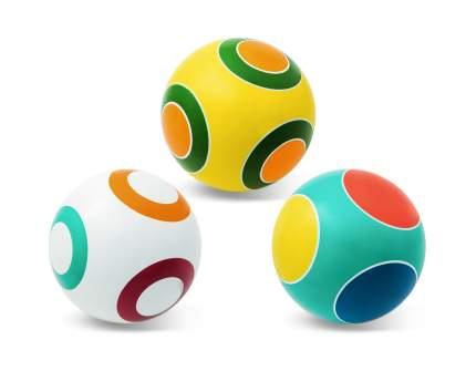 Мяч детский Мячи Чебоксары Серия Кружочки 20 см, в ассортименте