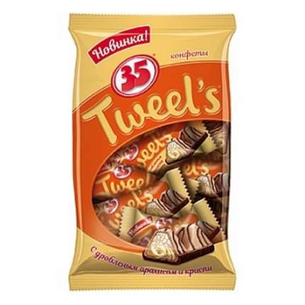 """Конфеты """"35 Tweel's"""", с дробленым арахисом и криспи, 280 гр"""