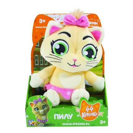 Плюшевая игрушка 44 котенка Пилу музыкальная, 20 см