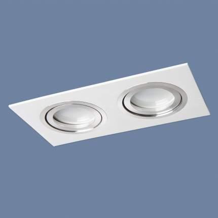 Встраиваемый светильник Elektrostandard 1051/2 WH Белый