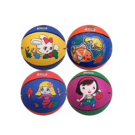 B32222 Мяч баскетбольный №5, (с принтом)