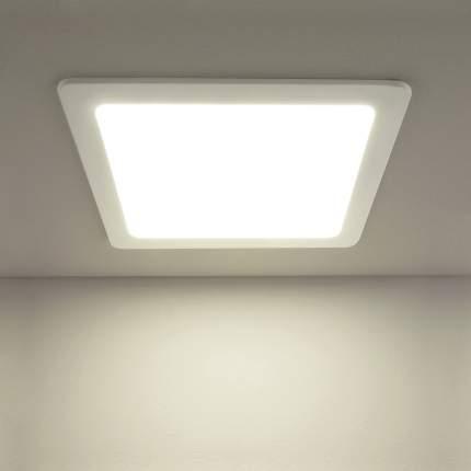 Встраиваемый светильник Elektrostandard DLS003 24W 4200K