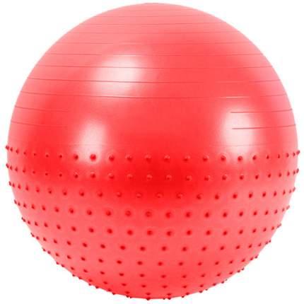 Мяч гимнастический Anti-Burst полу-массажный 65 см (красный) FBX-65-1