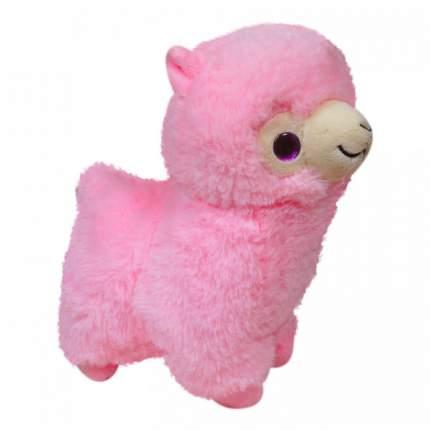 Мягкая игрушка Keel toys лама розовая, 22 см