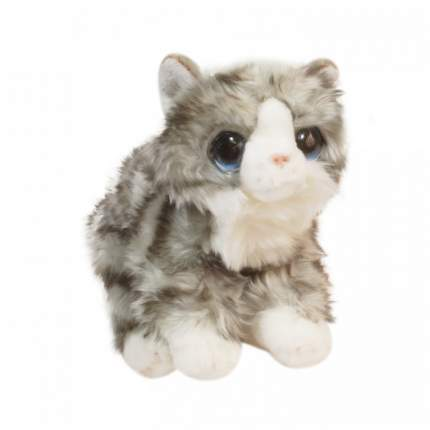 Мягкая игрушка Keel toys Signature котенок серый, 30 см