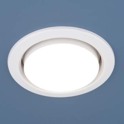 Встраиваемый точечный светильник Elektrostandard 1035 GX53 WH белый, комплект 10 шт