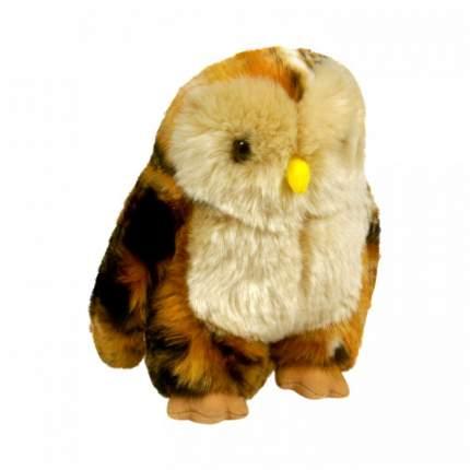 Мягкая игрушка Keel toys сова оранжево-коричневая, 18 см
