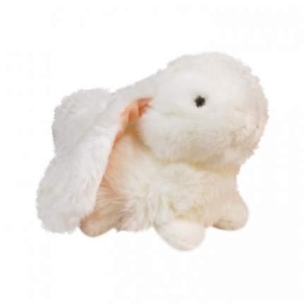 Мягкая игрушка Keel toys лежащий кролик белый, 23 см