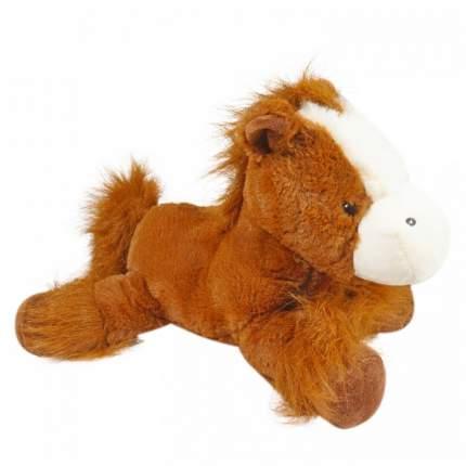 Мягкая игрушка Keel toys лошадь коричневая, 33 см