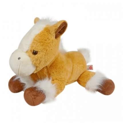 Мягкая игрушка Keel toys лошадь бежевая, 33 см