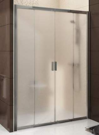 Душевая дверь раздвижная Ravak Blix BLDP4-140 белый+грейп, 0YVM0100ZG