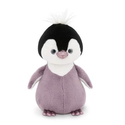 Мягкая игрушка Orange Toys Пушистик Пингвинёнок сиреневый, 35 см