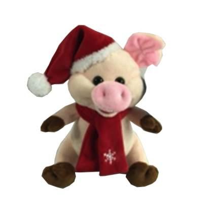 Мягкая игрушка Lapa House Свинка, 17 см