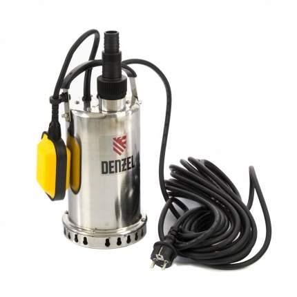 Дренажный насос DP600X, 600 Вт, подъем 7,5 м, 8500 л/ч Denzel