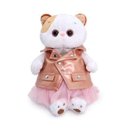 Мягкая игрушка BUDI BASA Кошечка Ли-Ли в юбке и жилетке, 24 см