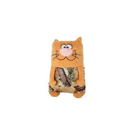 Мягкая игрушка KiddieArt Модный персиковый кот, 43 см