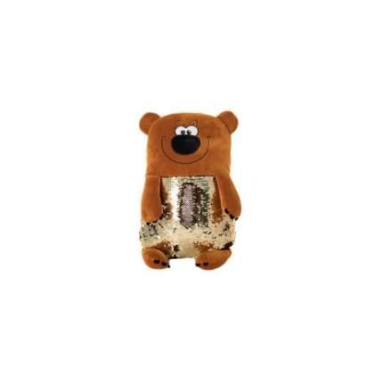 Мягкая игрушка KiddieArt Модные зверята Медведь, 50 см