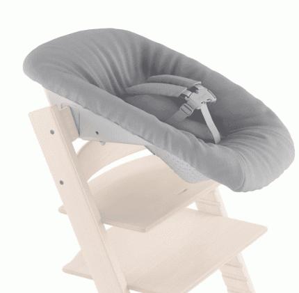 Чехол для новорожденного в стульчик Stokke Tripp Trapp grey