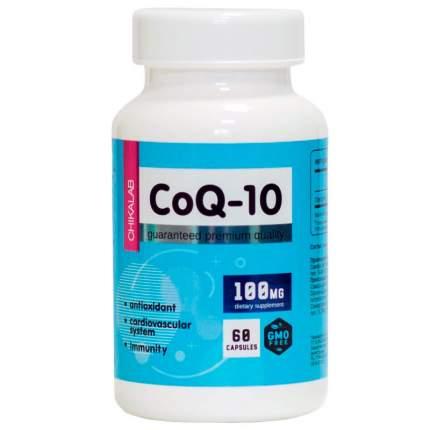 Коэнзим Q10 Chikalab BOMBBAR Co-Q10 100 мг капсулы 60 шт.
