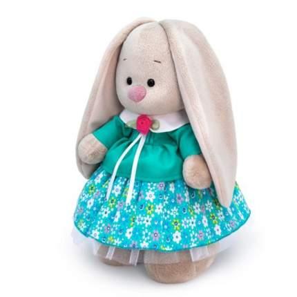 Мягкая игрушка BUDI BASA Зайка Ми в бирюзовой курточке малая, 25 см