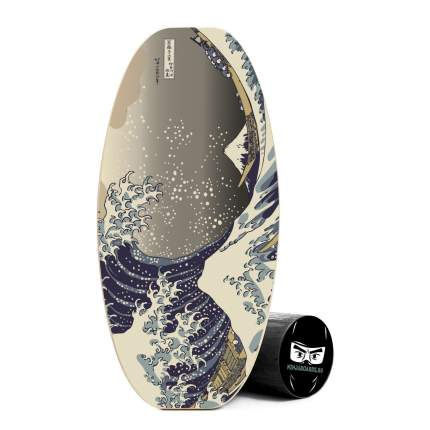 Баланс борд ninjaboards BIG WAVE #40, длина 860мм, ролик 160мм