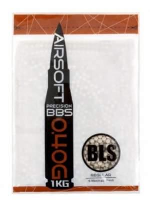 Шарики пластиковые 6 мм BLS 0.40 гр (1 кг) белые