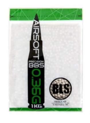Шарики пластиковые 6 мм BLS 0.36 гр (1 кг) белые