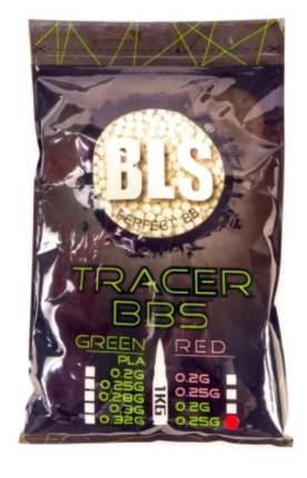 Шарики пластиковые 6 мм BLS 0.25 гр (1 кг) трассирующие