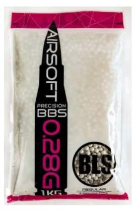 Шарики для страйкбола 6 мм BLS 0.28 гр (1 кг) белые