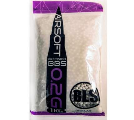 Шарики для страйкбола 6 мм BLS 0.2 гр (1 кг) белые