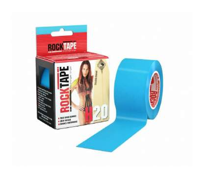 RockTape Кинезиотейп H2O 5см x 5м (Голубой)